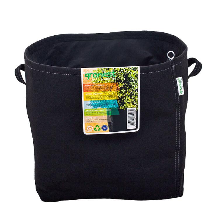 25L (6.6 Gallons) Fabric Grow Pots